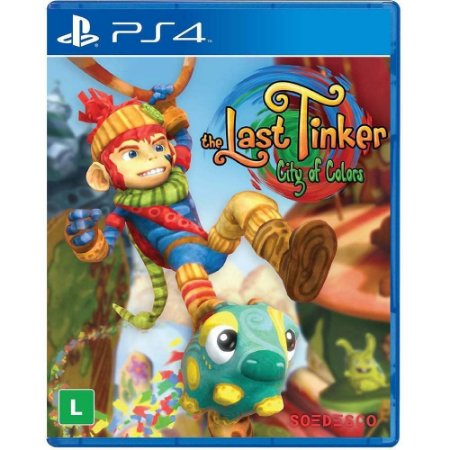 Jogo The Last Tinker City of Colors - PS4