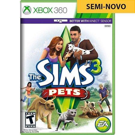 Jogo The Sims 3 Pets - Xbox 360 (Seminovo)