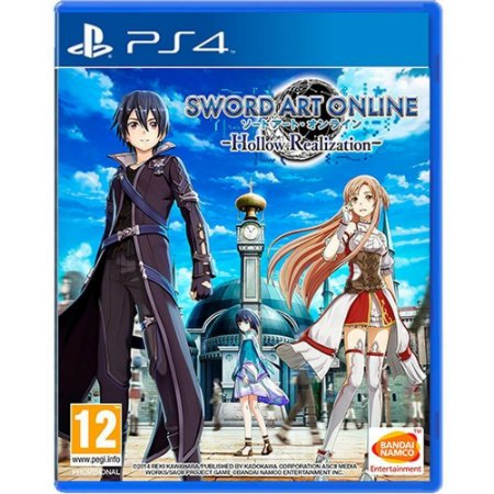Jogo Sword Art Online Hallow Realization - PS4
