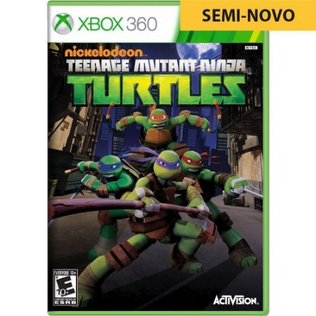 Jogo Teenage Mutant Ninja Turtles - Xbox 360 (Seminovo)
