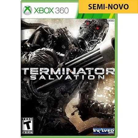 Jogo Terminator Salvation - Xbox 360 (Seminovo)
