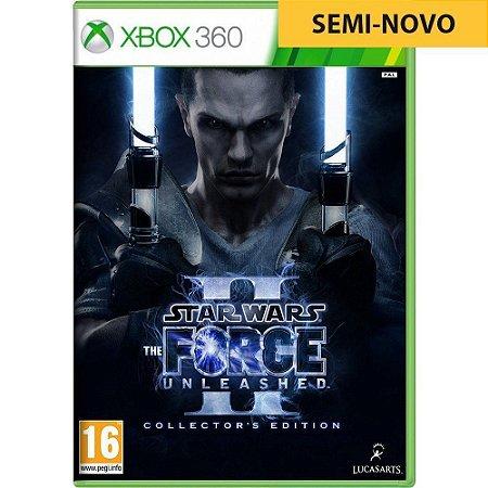 Jogo Star Wars The Force Unleashed 2 - Xbox 360 (Seminovo)