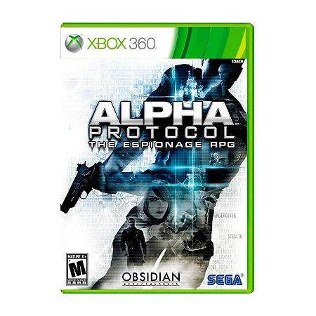 Jogo Alpha Protocol - Xbox 360 (Seminovo)