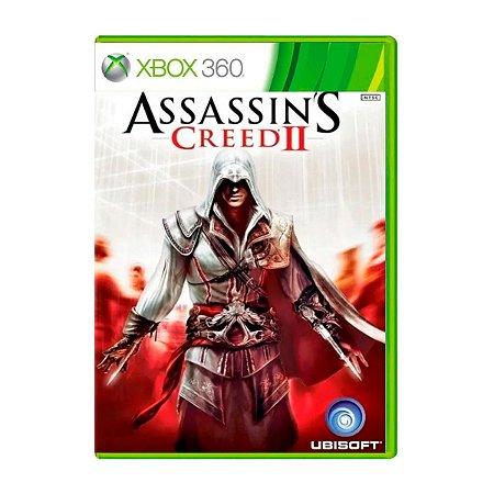 Jogo AssassinS Creed II - Xbox 360 (Seminovo)