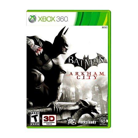 Jogo Batman Arkham City - Xbox 360 (Seminovo)