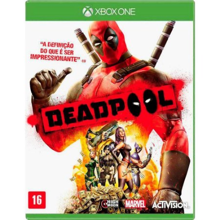 Jogo Deadpool - Xbox One (Seminovo)
