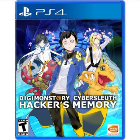Jogo Digimon Story Cyber Sleuth Hackers Memory - PS4