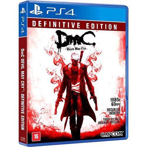 Jogo DmC Devil May Cry Definitive Edition - PS4