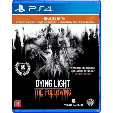 Jogo Dying Light The Following Enhanced Edition - PS4