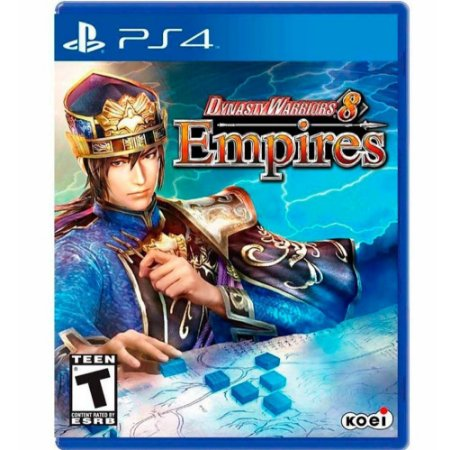 Jogo Dynasty Warriors 8 Empires - PS4