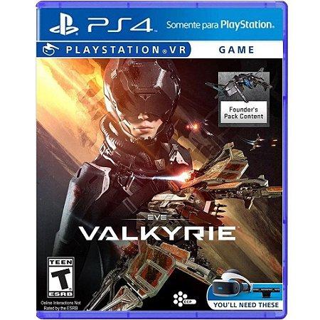 Jogo Eve Valkyrie VR - PS4
