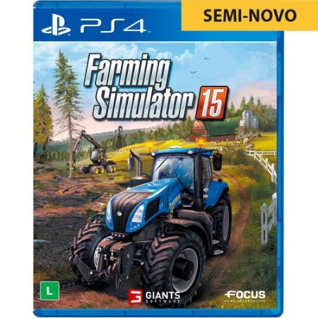 Jogo Farming Simulator 15 - PS4 (Seminovo)