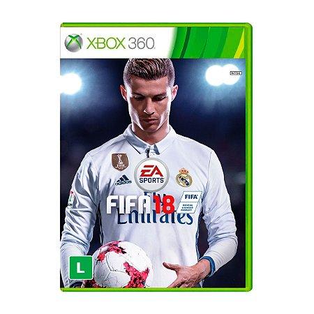 Jogo FIFA 18 - Xbox 360 (Seminovo)