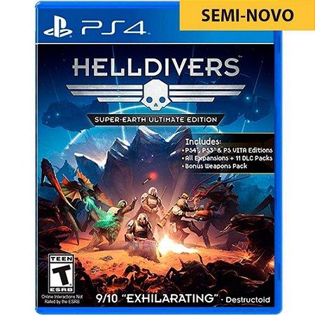 Jogo Helldivers - PS4 (Seminovo)