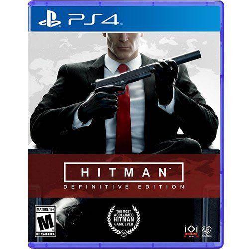 Jogo Hitman Definitive Edition - PS4