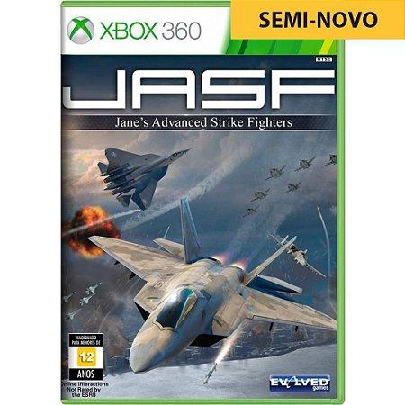 Jogo JASF Janes Advanced Strike Fighters - Xbox 360 (Seminovo)