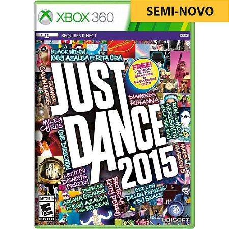 Jogo Just Dance 2015 - Xbox 360 (Seminovo)