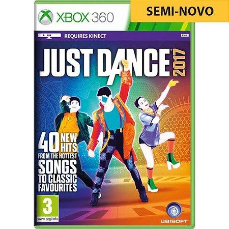 Jogo Just Dance 2017 - Xbox 360 (Seminovo)