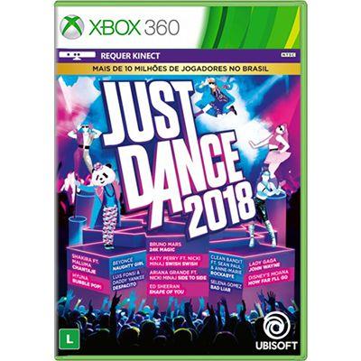 Jogo Just Dance 2018 - Xbox 360 (Seminovo)
