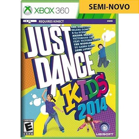 Jogo Just Dance Kids 2014 - Xbox 360 (Seminovo)