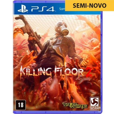 Jogo Killing Floor 2 - PS4 (Seminovo)