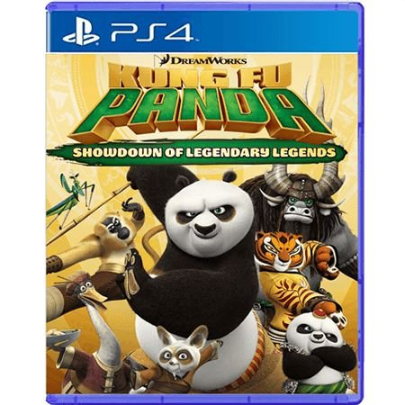Jogo Kung Fu Panda Showdown of Legendary Legends - PS4 (Seminovo)