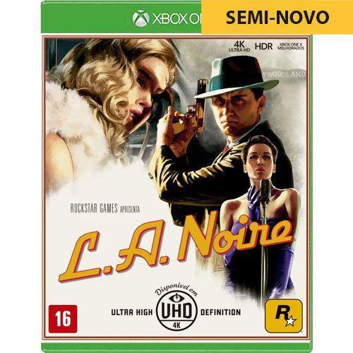 Jogo LA Noire - Xbox One (Seminovo)