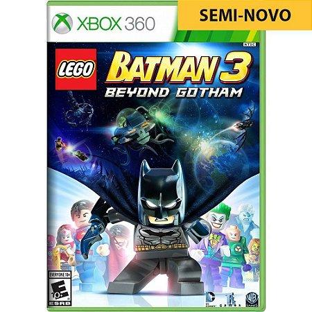Jogo LEGO Batman 3 Beyond Gotham - Xbox 360 (Seminovo)