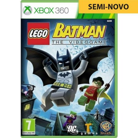 Jogo LEGO Batman The Videogame - Xbox 360 (Seminovo)