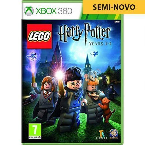 Jogo LEGO Harry Potter Years 1-4 - Xbox 360 (Seminovo)