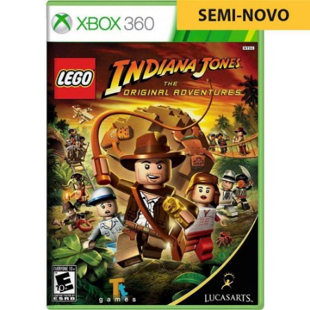 Jogo LEGO Indiana Jones - Xbox 360 (Seminovo)