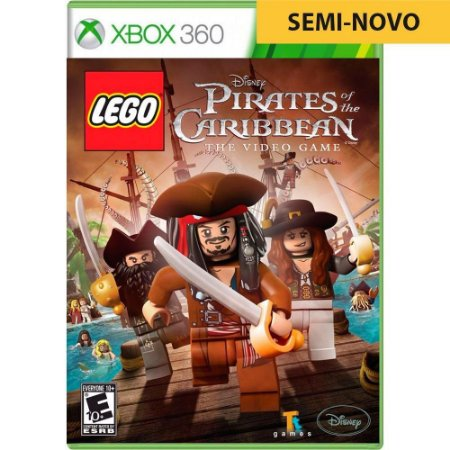 Jogo LEGO Piratas do Caribe - Xbox 360 (Seminovo)