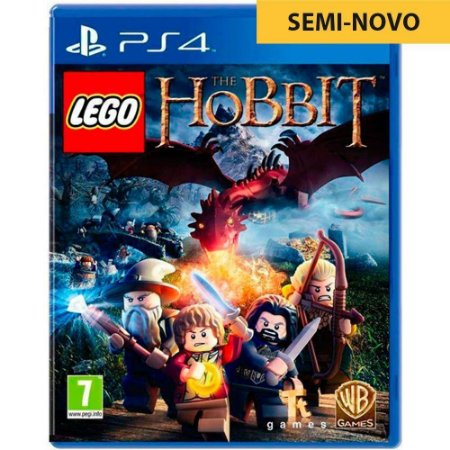 Jogo LEGO The Hobbit - PS4 (Seminovo)