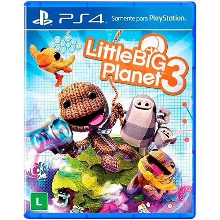 Jogo Little Big Planet 3 - PS4