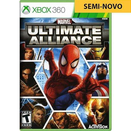 Jogo Marvel Ultimate Alliance - Xbox 360 (Seminovo)