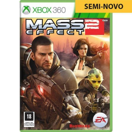 Jogo Mass Effect 2 - Xbox 360 (Seminovo)