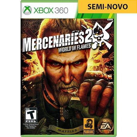 Jogo Mercenaries 2 World in Flames - Xbox 360 (Seminovo)