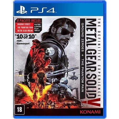 Jogo Metal Gear Solid V The Definitive Experience - PS4