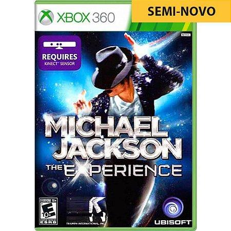 Jogo Michael Jackson The Experience - Xbox 360 (Seminovo)