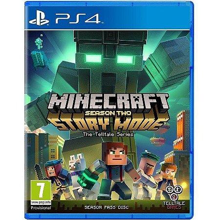 Jogo Minecraft Story Mode Season Two - PS4