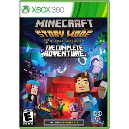Jogo Minecraft Story Mode The Complete Adventure - Xbox 360