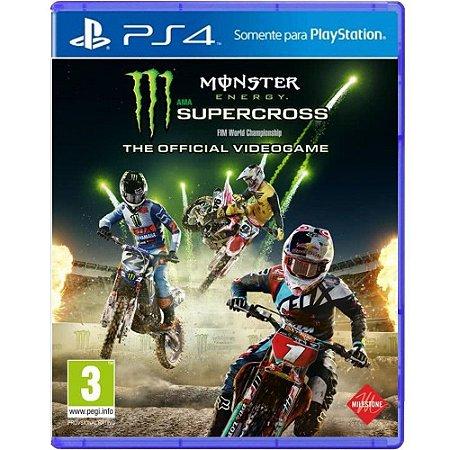 Jogo Monster Energy Supercross - PS4
