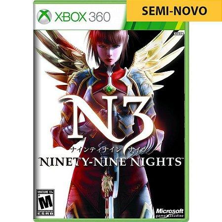 Jogo N3II Ninety Nine Nights - Xbox 360 (Seminovo)