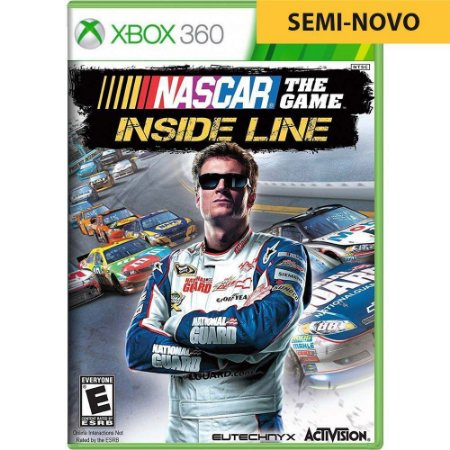 Jogo Nascar The Game Inside Line - Xbox 360 (Seminovo)