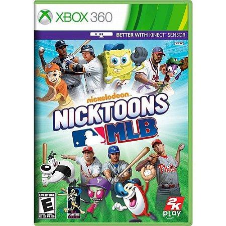 Jogo Nicktoons MLB - Xbox 360