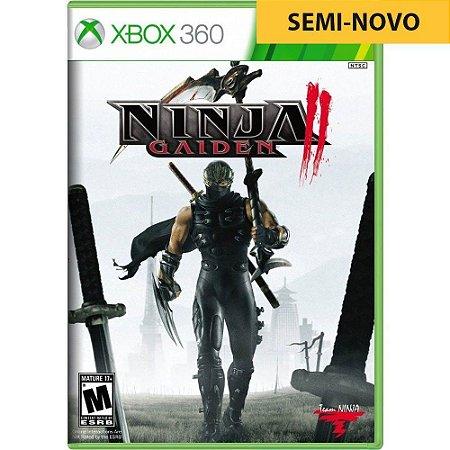 Jogo Ninja Gaiden 2 - Xbox 360 (Seminovo)