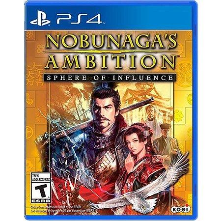 Jogo Nobunagas Ambition Sphere of Influence - PS4