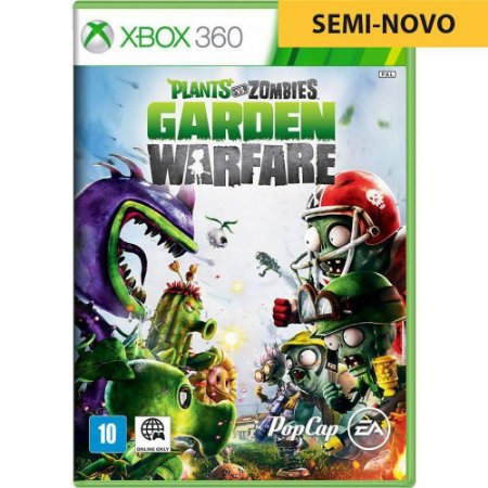 Jogo Plants Vs Zombies Garden Warfare - Xbox 360 (Seminovo)