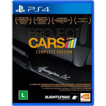 Jogo Project Cars Complete Edition - PS4