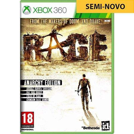 Jogo Rage - Xbox 360 (Seminovo)